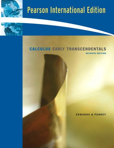 9780136158400: Calculus, Early Transcendentals:International Edition