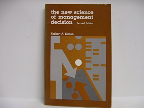9780136161363: The New Science of Management Decision