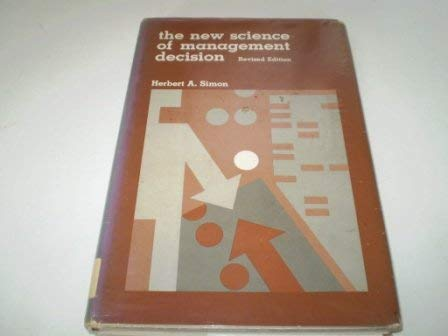 9780136161448: New Science of Management Decision