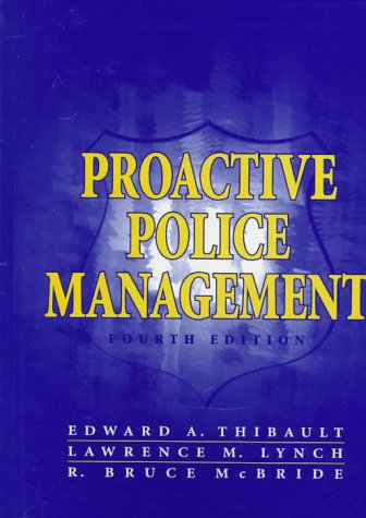 9780136166658: Proactive Police Management