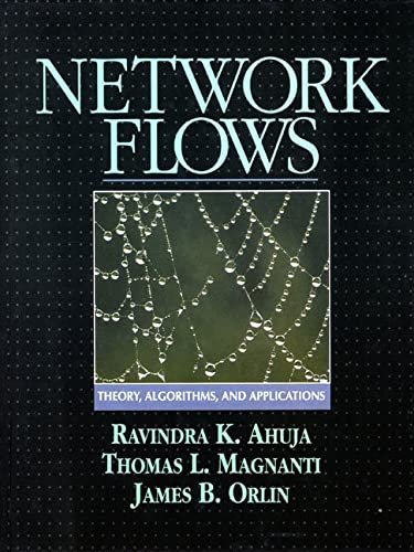 9780136175490: Network Flows: Theory, Algorithms, and Applications