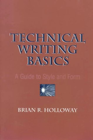9780136177968: Technical Writing Basics: A Guide to Style and Form