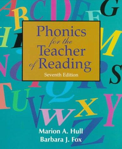 9780136178200: Phonics for the Teacher of Reading: Programmed for Self-Instruction