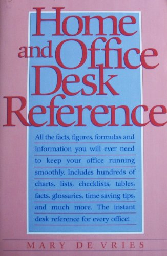 Home and Office Desk Reference