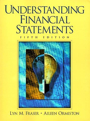 9780136191155: Understanding Financial Statements