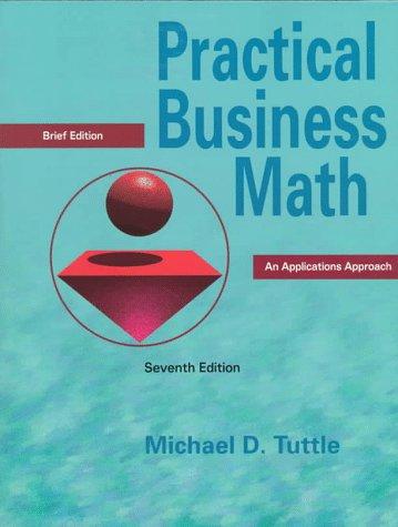 9780136210207: Practical Business Math: An Applications Approach