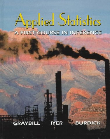 9780136214670: Applied Statistics: A First Course in Inference