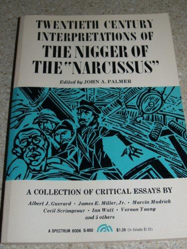 Twentieth Century Interpretations of The Nigger of: Albert J. Guerard,