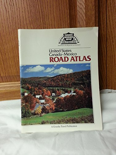 United States, Canada, Mexico Road Atlas, 1990 (0136223907) by Gousha; H.M. Gousha (Firm)