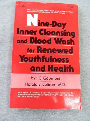 9780136225225: Nine-Day Inner Cleansing and Blood Wash for Renewed Youthfulness and Health