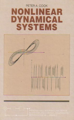 Nonlinear Dynamical Systems.: Cook, P A