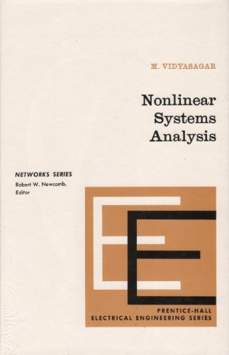 9780136232803: Nonlinear Systems Analysis (Prentice-Hall networks series)