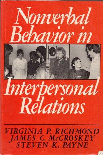 9780136234227: Nonverbal Behavior in Interpersonal Relations