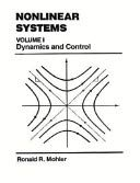 9780136234890: Nonlinear Systems: Volume I, Dynamics & Control