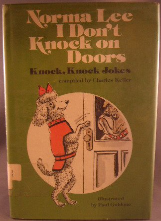 9780136235873: Norma Lee I Don't Knock on Doors: Knock, Knock Jokes