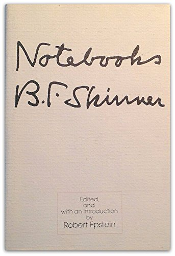 9780136241065: Notebooks, B.F. Skinner