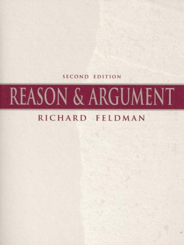 9780136246022: Reason and Argument