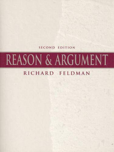 9780136246022: Reason & Argument (2nd Edition)