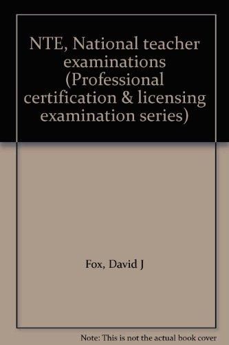 NTE - National Teacher Examinations: David Fox