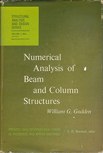 9780136265641: Numerical Analysis of Beam and Column Structures