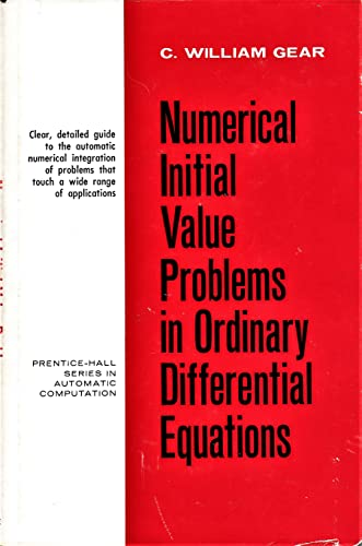 9780136266068: Numerical Initial Value Problems in Ordinary Differential Equations (Automatic Computation)