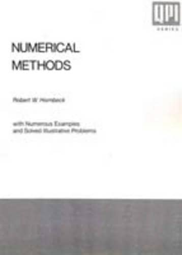 9780136266143: Numerical Methods: With Numerous Examples and Solved Illustrative Problems