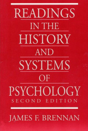 9780136267973: Readings in the History and Systems of Psychology