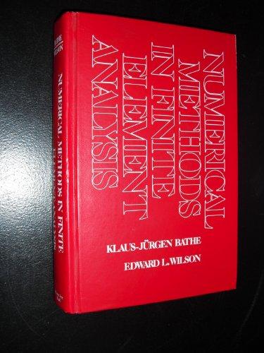9780136271901: Numerical methods in finite element analysis (Prentice-Hall civil engineering and engineering mechanics series)