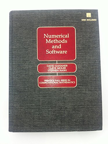 9780136272588: Numerical Methods and Software/Disk Included