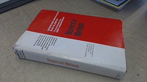 9780136273158: Numerical Methods (Prentice-Hall series in automatic computation)