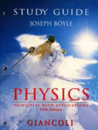 9780136279440: Study Guide for Giancoli's Physics : Principles With Applications