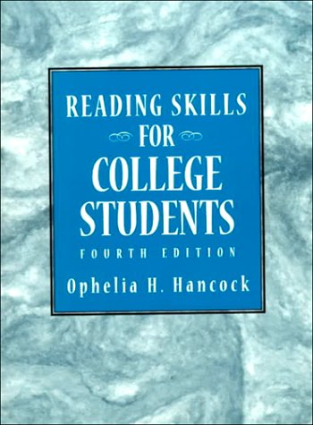 9780136283713: Reading Skills for College Students