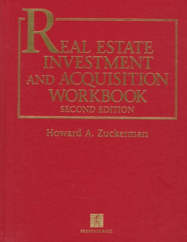 9780136286370: Real Estate Investment and Acquisition Workbook with Disk