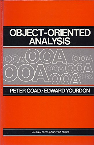 9780136291220: Object-Oriented Analysis (Yourdon Press Computing Series)