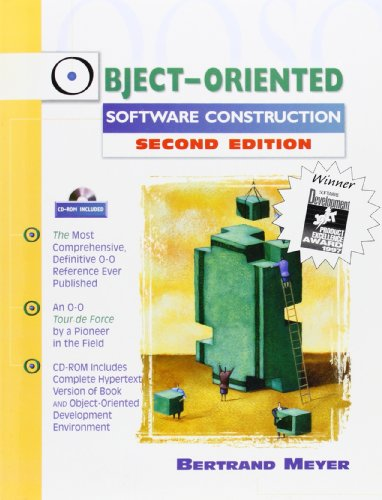 9780136291558: Object-Oriented Software Construction (Book/CD-ROM) (Prentice-Hall Resource)