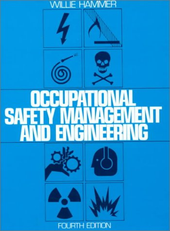 9780136293798: Occupational Safety Management and Engineering (Prentice Hall international series in industrial & systems engineering)