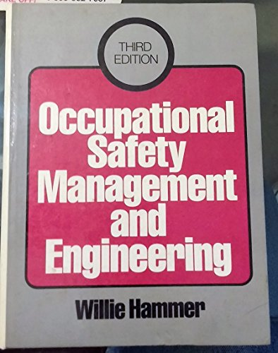 9780136294375: Occupational Safety Management and Engineering