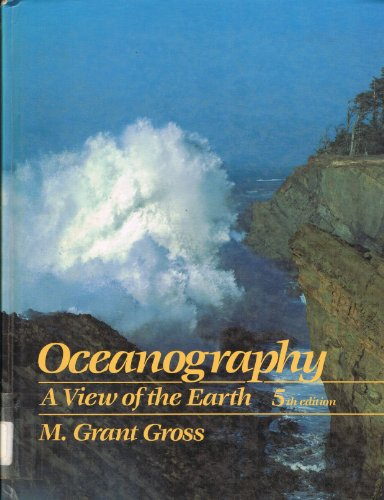 9780136297420: Oceanography: A View of the Earth