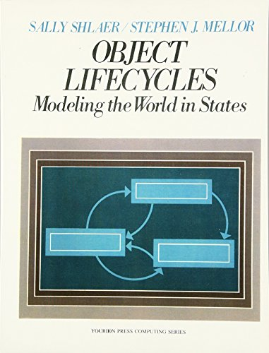 9780136299400: Object Life Cycles: Modeling the World In States