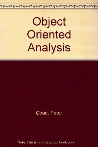 9780136300137: Object Oriented Analysis