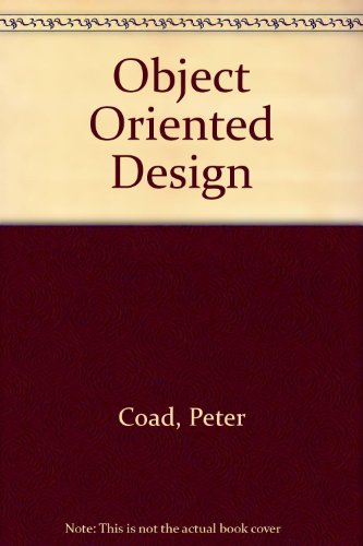 9780136301462: Object Oriented Design