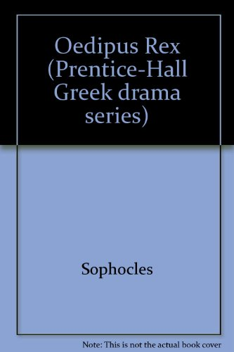 9780136305095: Oedipus Rex (Prentice-Hall Greek drama series)