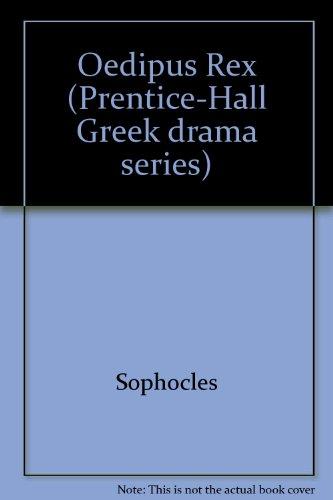 9780136305095: Oedipus Rex (Prentice-Hall Greek drama series)