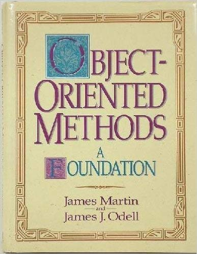 9780136308560: Object-oriented Methods: A Foundation