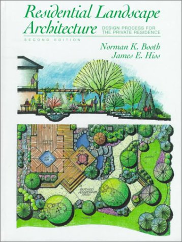 9780136320197 Residential Landscape Architecture Design Process For The Private Residence