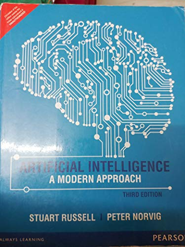 9780136322597: Artificial Intelligence: A Modern Approach (3rd Edition) by RUSSELL (2014-08-01)