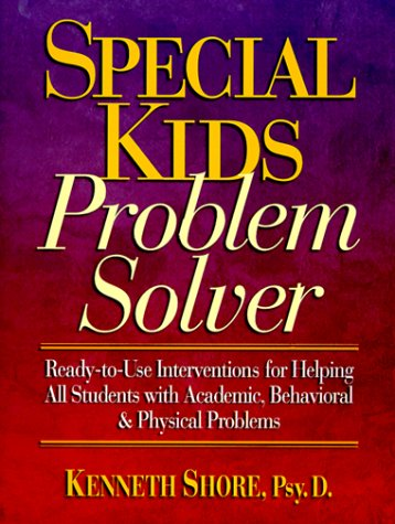 9780136325222: Special Kids Problem Solver Ready-to-Use Interventions