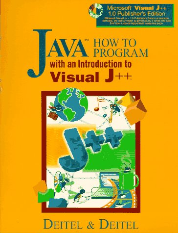 9780136325895: Java How to Program: With an Introduction to Visual J++ (How to Program Series)