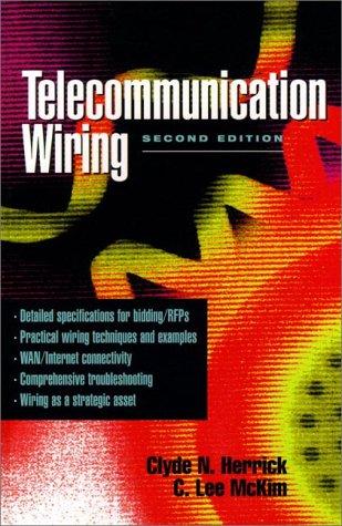 9780136328452: Telecommunication Wiring (2nd Edition)