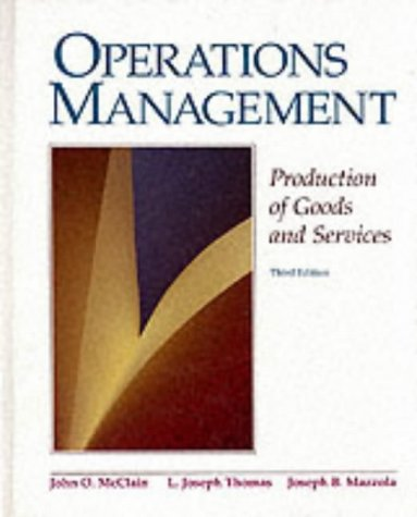 9780136361350: Operations Management: Production of Goods and Services